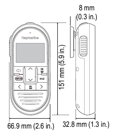 RayMic-dimensions